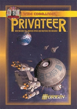 Cover for Wing Commander: Privateer.