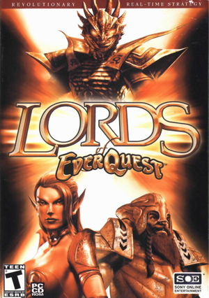 Cover for Lords of EverQuest.