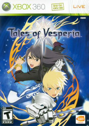 Cover for Tales of Vesperia.