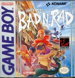 Cover for Skate or Die: Bad 'N Rad.