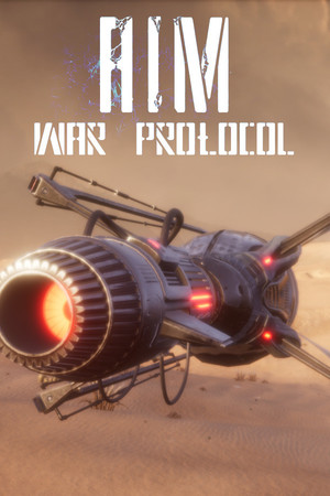 Cover for A.I.M.3: War Protocol.