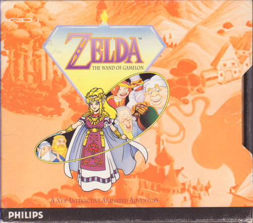 Cover for Zelda: The Wand of Gamelon.