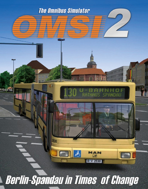 Cover for OMSI 2: The Bus Simulator.
