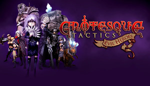 Cover for Grotesque Tactics: Evil Heroes.