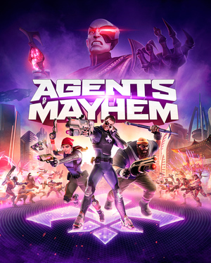 Cover for Agents of Mayhem.