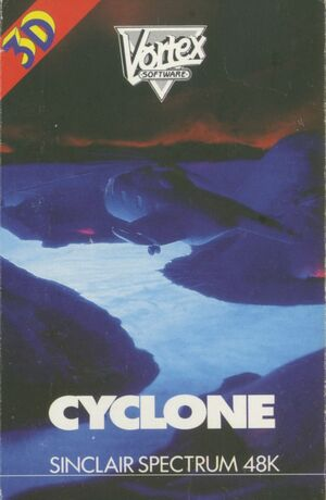 Cover for Cyclone.