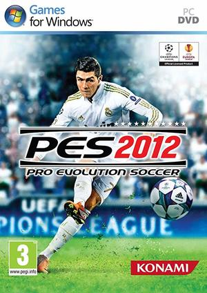 Cover for Pro Evolution Soccer 2012.