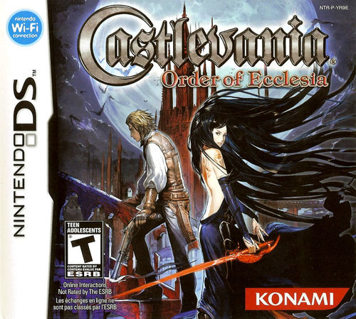 Cover for Castlevania: Order of Ecclesia.