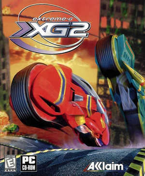 Cover for Extreme-G 2.