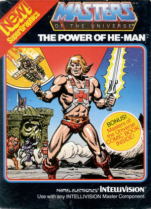 Cover for Masters of the Universe: The Power of He-Man.