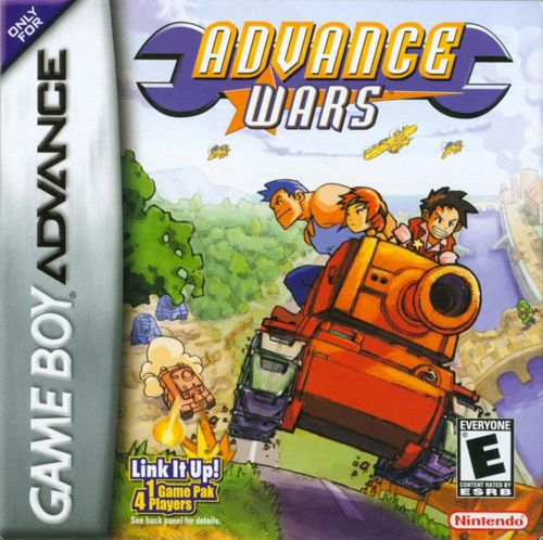 Cover for Advance Wars.