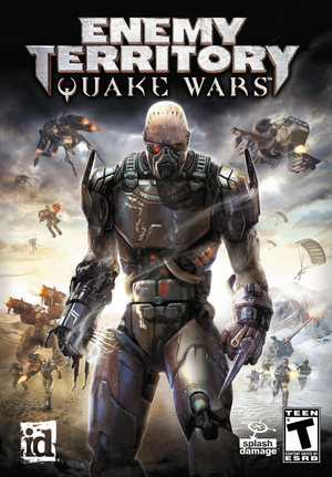 Cover for Enemy Territory: Quake Wars.