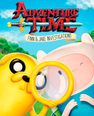 Cover for Adventure Time: Finn & Jake Investigations.