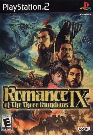 Cover for Romance of the Three Kingdoms IX.