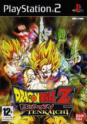 Cover for Dragon Ball Z: Budokai Tenkaichi.