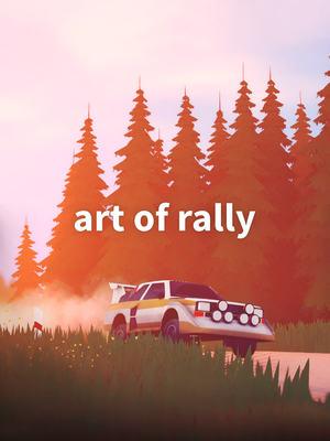 Cover for Art of Rally.