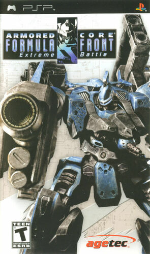 Cover for Armored Core: Formula Front.