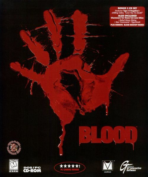Cover for Blood.