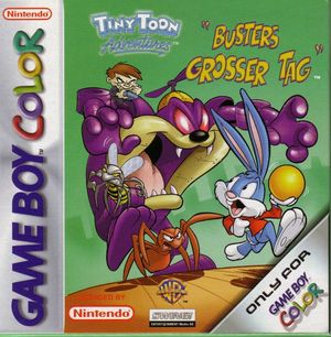 Cover for Tiny Toon Adventures: Buster Saves the Day.