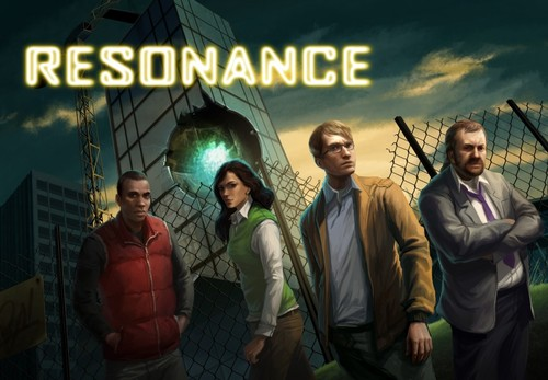 Cover for Resonance.