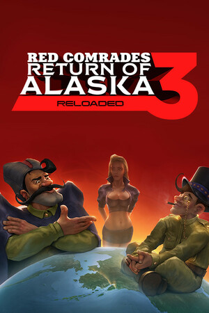 Cover for Red Comrades 3: Return of Alaska.