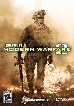 Cover for Call of Duty: Modern Warfare 2.