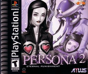 Cover for Persona 2: Eternal Punishment.