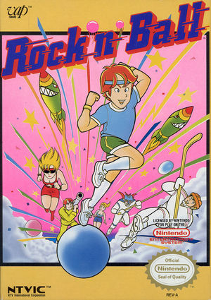 Cover for Rock 'n Ball.