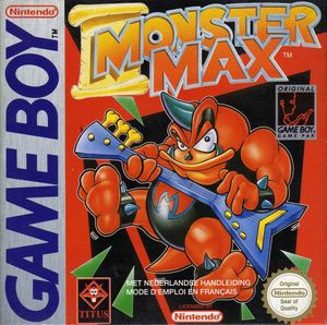 Cover for Monster Max.