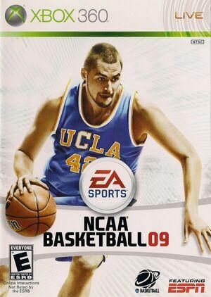 Cover for NCAA Basketball 09.