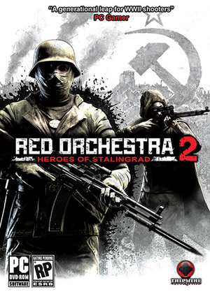 Cover for Red Orchestra 2: Heroes of Stalingrad.