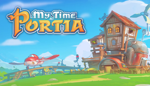 Cover for My Time At Portia.