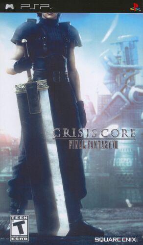 Cover for Crisis Core: Final Fantasy VII.