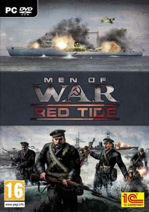 Cover for Men of War: Red Tide.