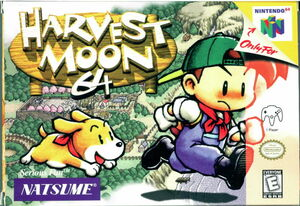 Cover for Harvest Moon 64.