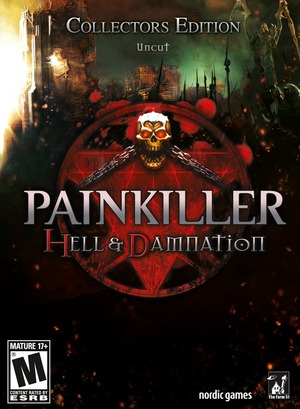 Cover for Painkiller: Hell & Damnation.