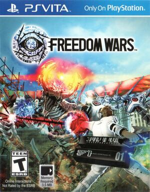 Cover for Freedom Wars.