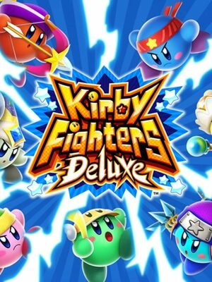Cover for Kirby Fighters Deluxe.