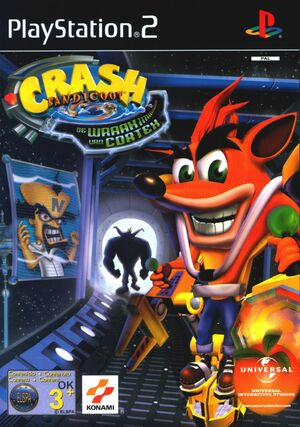 Cover for Crash Bandicoot: The Wrath of Cortex.