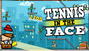 Cover for Tennis in the Face.