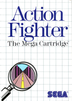 Cover for Action Fighter.