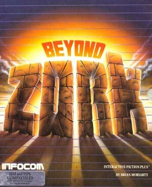 Cover for Beyond Zork.