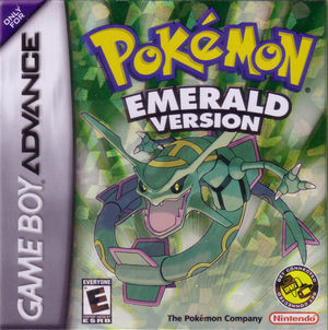 Cover for Pokémon Emerald.