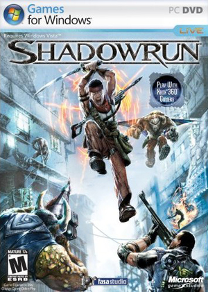 Cover for Shadowrun.