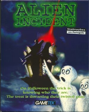 Cover for Alien Incident.