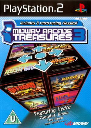 Cover for Midway Arcade Treasures 3.