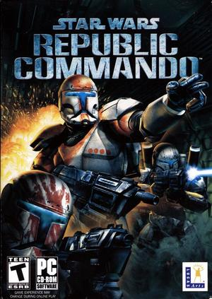Cover for Star Wars: Republic Commando.