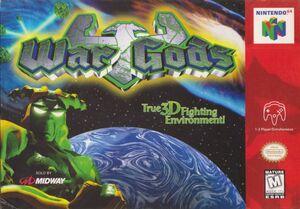Cover for War Gods.