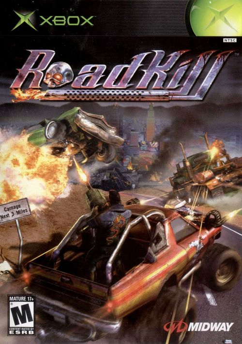 Cover for RoadKill.