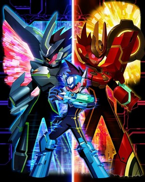 Cover for Mega Man Star Force 3.